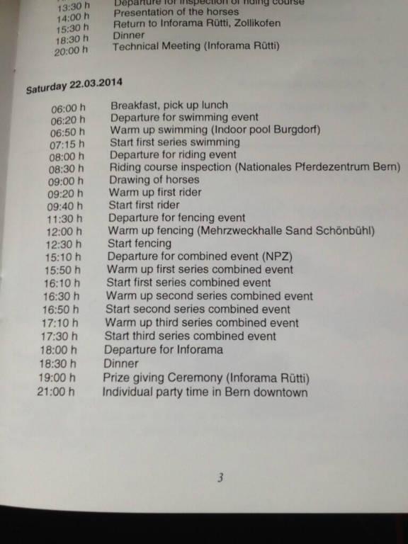 tijdschema